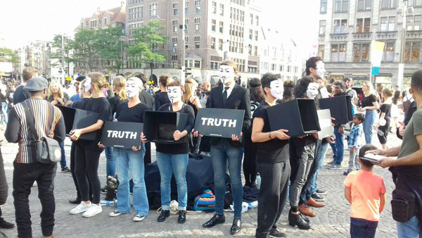 Cube Of Truth Amsterdam