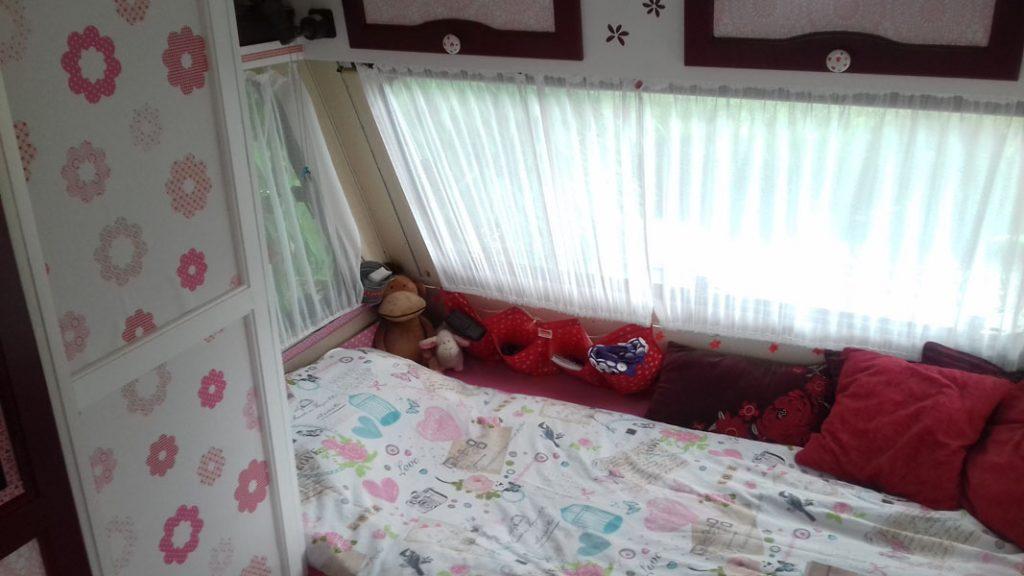 Een knus bed!