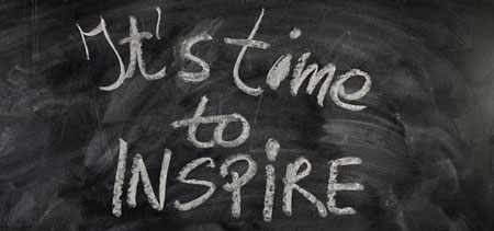It's time to inspire!