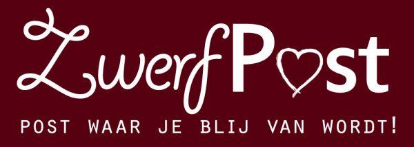 Logo: ZwerfPost is post waar je blij van wordt!