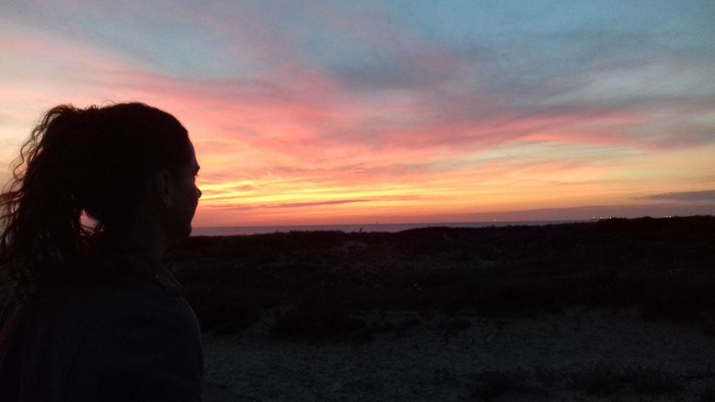 Meditatie bij zonderondergang