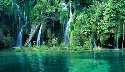 Magische watervallen in Plitvice - Kroatië